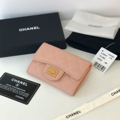 1:1 original leather Chanel wallet outlet 80831 00128 top quality