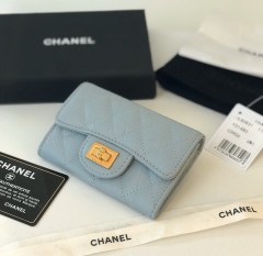 1:1 original leather Chanel wallet outlet 80831 00129 top quality
