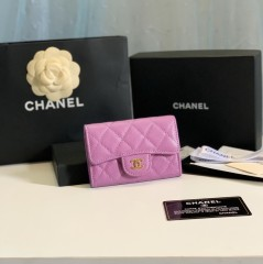 1:1 original leather Chanel women wallet outlet 80799 00118 top quality