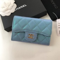 1:1 original leather Chanel wallet card bag 80799 00136 top quality
