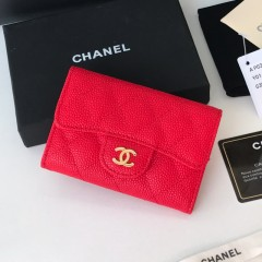 1:1 original leather Chanel wallet P0124 00133 top quality