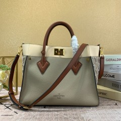 1:1 original leather Louis Vuitton tote bag on my side M53823/M55302 00165 top quality