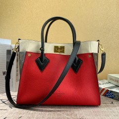 1:1 original leather Louis Vuitton tote bag on my side M53823/M55302 00168 top quality