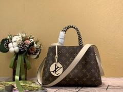 1:1 original leather Louis Vuitton tote bag montaigne BB M45311/M44671 00174 top quality