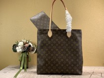 1:1 original leather Louis Vuitton tote shoulder bag mother and child bag M45199 00211 top quality