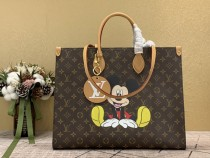 1:1 original leather Louis Vuitton totes bag onthego M44569/M44570 00213 top quality