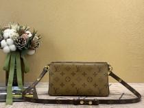 1:1 original leather Louis Vuitton cross body bag prefall pochette M57611 00209 top quality