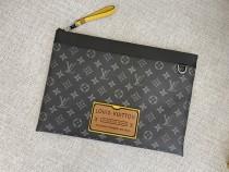 1:1 original leather Louis Vuitton clutch bag ipad bag 00232 top quality