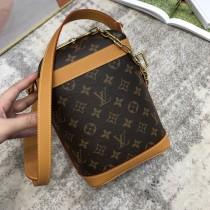 1:1 original leather Louis Vuitton shoulder bag potato chip bag M50132 00231 top quality