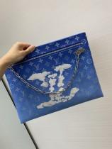 1:1 original leather Louis Vuitton clutch bag M43852 00235 top quality