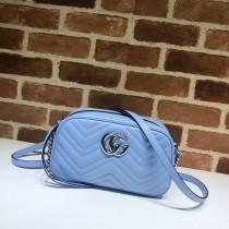 1:1 original leather Gucci shoulder bag cross body bag #447632 00244 top quality