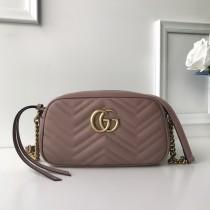 1:1 original leather Gucci shoulder bag cross body bag #447632 00247 top quality