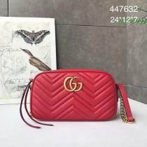 1:1 original leather Gucci shoulder bag cross body bag #447632 00250 top quality