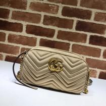 1:1 original leather Gucci shoulder bag cross body bag #447632 00249 top quality