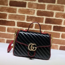 1:1 original leather Gucci shoulder bag cross body bag #498110 00296 top quality