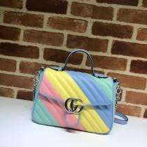 1:1 original leather Gucci shoulder bag cross body bag #498110 00293 top quality