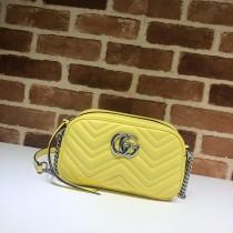 1:1 original leather Gucci shoulder bag cross body bag #447632 00243 top quality