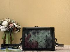 1:1 original leather Louis Vuitton tote shoulder bag bond street N41071 00328 top quality