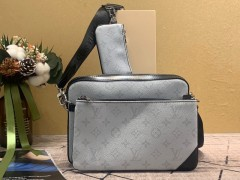 1:1 original leather Louis Vuitton tote bag with strap skyline PM N60297 00337 top quality