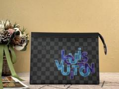1:1 original leather Louis Vuitton tote shoulder bag bond street N41071 00329 top quality