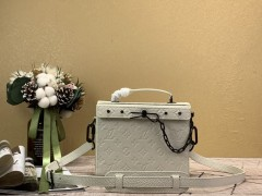 1:1 original leather Louis Vuitton men tote bag with strap M61117 00368 top quality