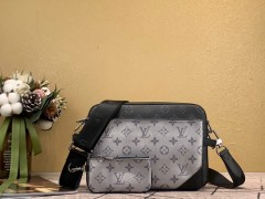 1:1 original leather Louis Vuitton tote bag with strap skyline N60294 00335 top quality