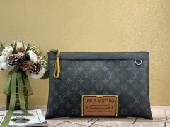 1:1 original leather Louis Vuitton tote shoulder bag bond street BB N41071 00326 top quality