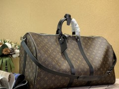 1:1 original leather Louis Vuitton tote travel bag keepall 55 M41414 00390 top quality