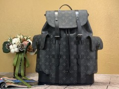 1:1 original leather Louis Vuitton backpacks travel bag christopher N47353/N41379/N41709 00387 top quality