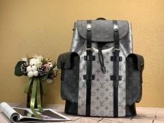 1:1 original leather Louis Vuitton backpacks travel bag christopher N47353/N41379/N41709 00388 top quality
