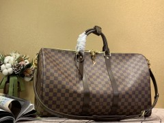 1:1 original leather Louis Vuitton tote travel bag keepall 50 N41416 00394 top quality