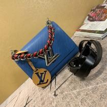 1:1 original leather Louis shoulder bag twist M52507 00416 top quality