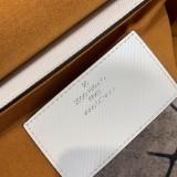 1:1 original leather Louis tote shoulder bag twist MM M56131 00455 top quality