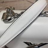 1:1 original leather Louis cross body shoulder bag twist M56117 00444 top quality