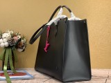 1:1 original leather Louis tote bag with strap onthego MM epi M56080 00452 top quality