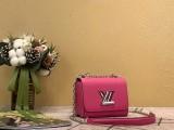 1:1 original leather Louis cross body shoulder bag twist M56117 00445 top quality