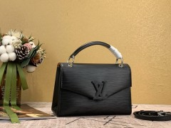 1:1 original leather Louis tote bag with strap pochette grenelle M55977 00447 top quality