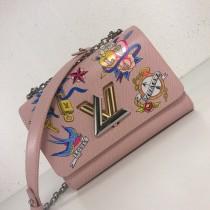 1:1 original leather Louis cross body/shoulder bag tattoo twist MM M52897 00410 top quality