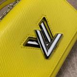 1:1 original leather Louis cross body shoulder bag twist M56117 00442 top quality