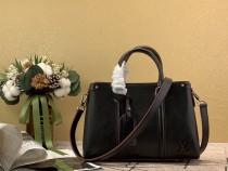 1:1 original leather Louis tote shoulder bag open handbag M55613 00441 top quality