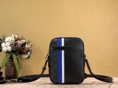 1:1 original leather Louis men cross body shoulder bag danube slim M51460 00457 top quality