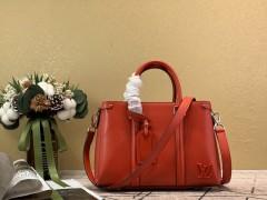 1:1 original leather Louis tote shoulder bag open handbag M55613 00440 top quality