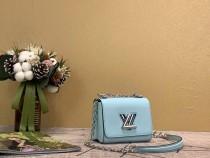 1:1 original leather Louis cross body shoulder bag twist M56117 00443 top quality