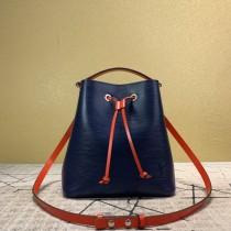 1:1 original leather Louis tote shoulder bag bucket bag neonoe M54366 00421 top quality