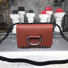 1:1 original leather burberry shoulder cross body bag #40767441 00485 top quality