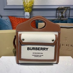 1:1 original leather burberry horseferry shoulder bag online #80146151 00467 top quality