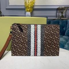 1:1 original leather burberry clutch bag #80188941 00482 top quality