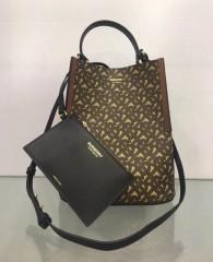 1:1 original leather burberry tote shoulder bag bucket bag #80268251 00466 top quality