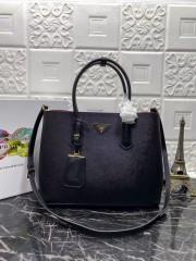 1:1 original leather Prada tote shoulder bag 1BG2775 00513 top quality