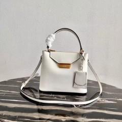 1:1 original leather Prada tote shoulder bag outlet 1BN012 00497 top quality